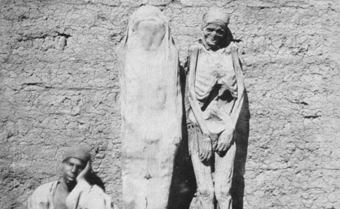 Медовый человек Аравийские базары XII были местом, где можно купить любую диковинку. Особой удачей считалось приобретение так называемого «медового человека», представляющего собой ни что иное, как пропитанный медом труп. Чтобы засахарить себя таким образом, старик-араб отправлялся в пустыню с помощником, где в течение месяца питался только медом. К тридцатому дню все его выделения состояли из меда, и вскоре человек умирал. Тогда помощник клал тело в специальный каменный гроб, также заполненный медом. Мастер-кондитер ставил на своих песочных часах таймер в сотню лет и все, чудодейственное лекарство было готово. Говорят, пальчики оближешь.