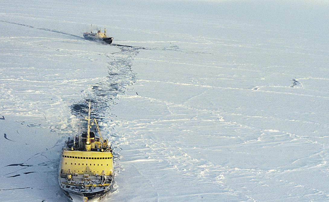 Северо-Западный путь Вдоль северного берега Северной Америки пролегает Северо-Западный проход. В летний период суда могут воспользоваться им, чтобы пройти через Канадский Арктический архипелаг из Атлантического в Тихий океан.