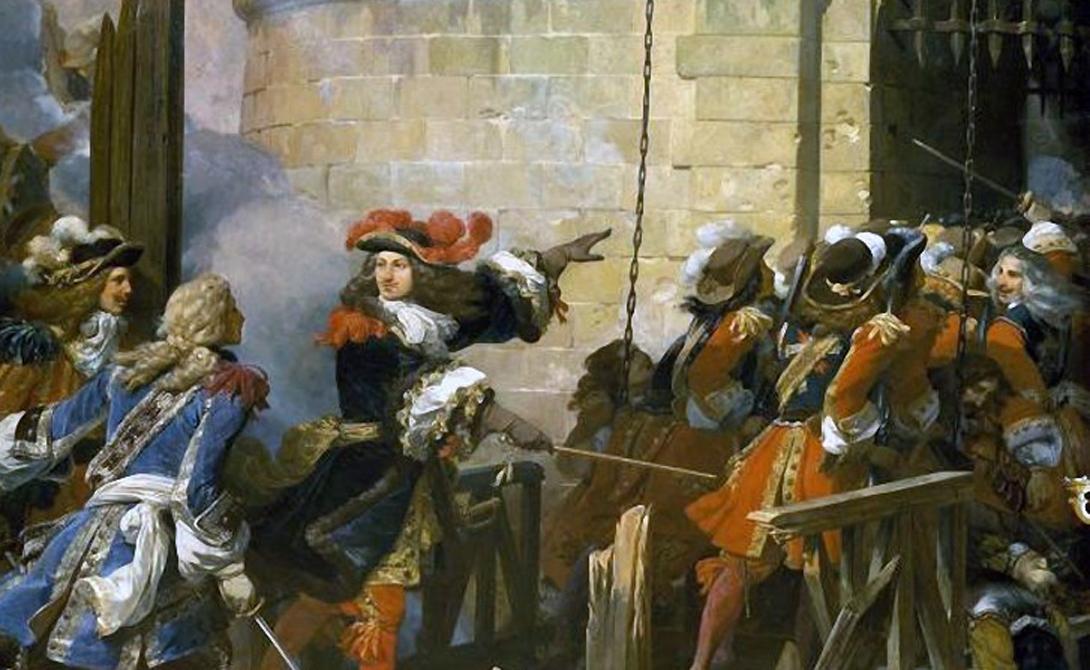Французские мушкетеры Мало кому известно, что французские мушкетеры были неким прообразом современных элитарных войсковых подразделений. В отряд набирались только хорошо подготовленные бойцы, ведь им предстояло охранять самого короля Франции. К тому же, мушкетеры одинаково эффективно действовали и в ближнем, и в дальнем бою.