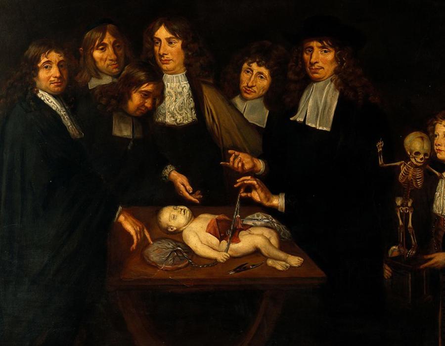 Коллекционируя смерть После университета Рюйш получил должность судебного медика в Амстердаме. Ему не приходилось красть трупы для исследований (этим были вынуждены заниматься все врачи, опасаясь суровой длани закона) — мертвецов было в достатке. Лучшие материалы судебный медик перевез прямо к себе домой.