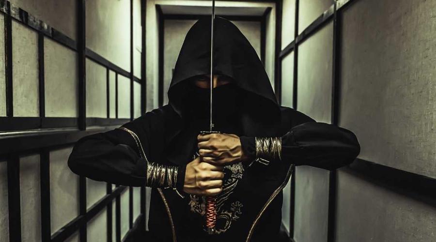Воины ниндзя Примерно в XV веке нашей эры началась история ниндзя, наемных убийц, чье имя прославилось в веках. Эти скрытные, прекрасно обученные воины стали настоящей легендой средневековой Японии — притом, что некоторые историки даже пытаются выделить их в отдельную народность.