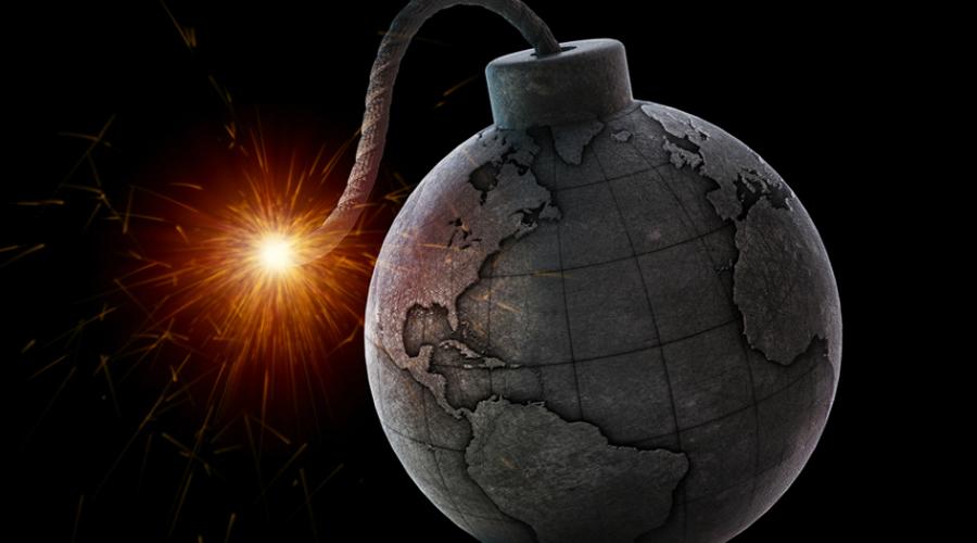Арктические сражения Одним из первых неприятных признаков возможного апокалипсиса можно считать обострившуюся борьбу вокруг разделения Арктики по национальным территориям. Сейчас переговоры раз за разом заходят в тупик: ООН вынужден принимать во внимание интересы США, Канады, Норвегии, Дании и Великобритании — а каждая из этих стран претендует на какую-то часть Арктики, входящую в нашу, российскую территорию. Богатейшие залежи ресурсов в регионе делает невозможной мирное разрешение вопроса, по крайней мере, на сегодняшний день.