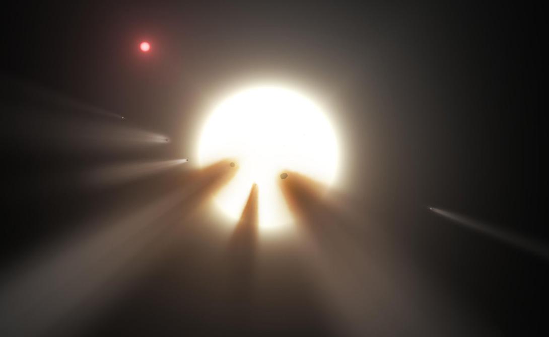 В космосе обнаружена мегаструктура внеземной цивилизации
