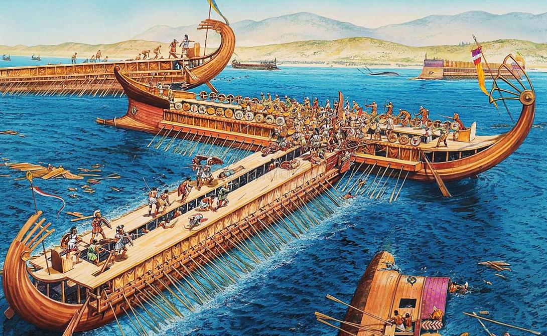 Ксеркс и море Это лишь один из случаев, когда буря вмешалась в ход истории. В 480 г. до н.э. персидский император, Ксеркс Великий, приговорил воды Дарданелл к 300 ударам плетью: внезапный шторм разрушил понтонный мост, по которому завоеватель готовился переправить свою армию в Грецию. Если бы не шторм, история развития древнего мира пошла бы по совсем другому пути.