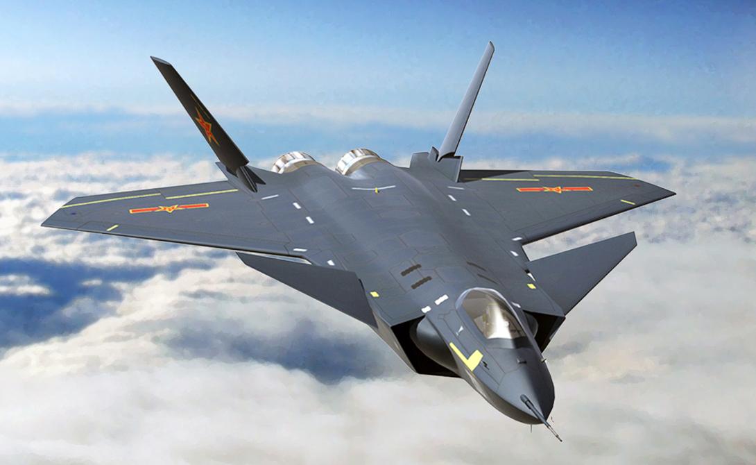 Технически совершенный J-20 («Черный орел») может стать настоящим прорывом китайской боевой авиации. На стенде производителя указана одна из будущих модификаций, которая позволит оснастить истребитель электрической системой дистанционного управления. Все системы самолета планируется соединить сетью Ethernet.