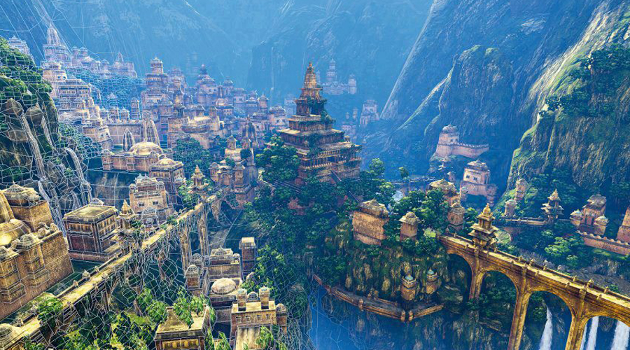Идея романа Хилтон писал свою Шангри-Лу по рассказам своего ближайшего друга, путешественника и биолога Джозефа Рока. Последний отличался любовью к эксцентричным выходкам и стремлением во что бы то ни стало обнаружить неизвестную цивилизацию в районе Тибета. Эти две страсти Рок пронес через всю жизнь и действительно провел несколько удачных экспедиций по Юньнани и Тибету. Отсюда он и привез буддисткую легенду о фантастической Шамбале — Хилтону оставалось лишь немного подправить название и картинка идеального романа была у него в руках.