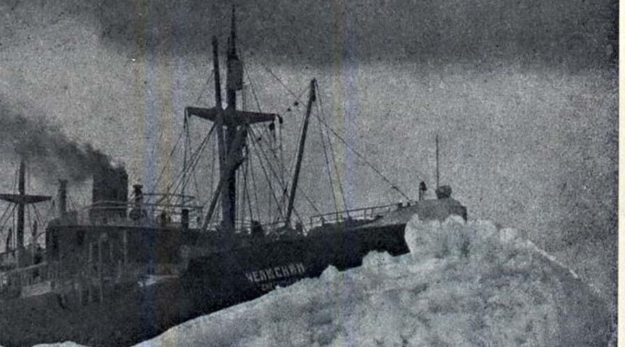 Экспедиция «Челюскина» По заказу СССР на датских стапелях был построен прекрасный с виду ледокол. Первый капитан Владимир Воронин «Челюскин» внимательно осмотрел и заявил, что судно к ледовому походу просто не приспособлено. Его корректные замечания учтены не были: Отто Шмидт предлагал Советам завоевать всю Арктику и это предложение нравилось всем. Экспедиция стартовала 16 июля 1933 года и почти сразу же была вынуждена свернуть в Копенгаген на ремонт.