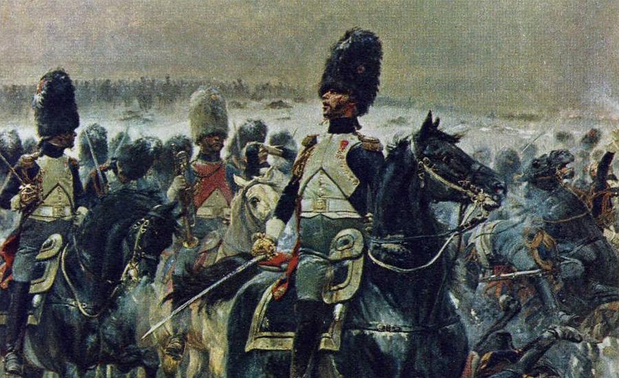 Консульская гвардия Получив звание Первого консула, Наполеон Бонапарт принялся обустраивать свою личную гвардию. В первую очередь великий полководец призвал к себе кавалеристов королевской армии, ростом не менее 180 сантиметров. Полк консульской гвардии принимал участие во всех главных сражениях Бонапарта, его бойцы отличались смелостью и беспощадным отношением к врагу.