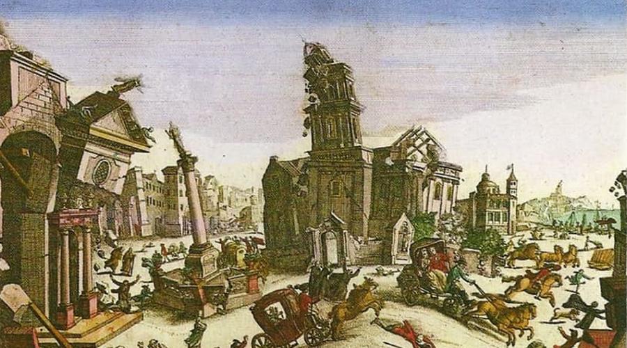 Порт-Ройял Ямайский Содом и Гоморра, населенная в основном пиратами и грабителями. Убийства, проституция, работорговля — вот, чем промышляли местные в свободное от пьянства время. Большая часть города была выстроена прямо на песке, и первое же серьезное землятресение превратило всю область в гигантский плывун, за пару секунд похоронив у моря более половины населения.