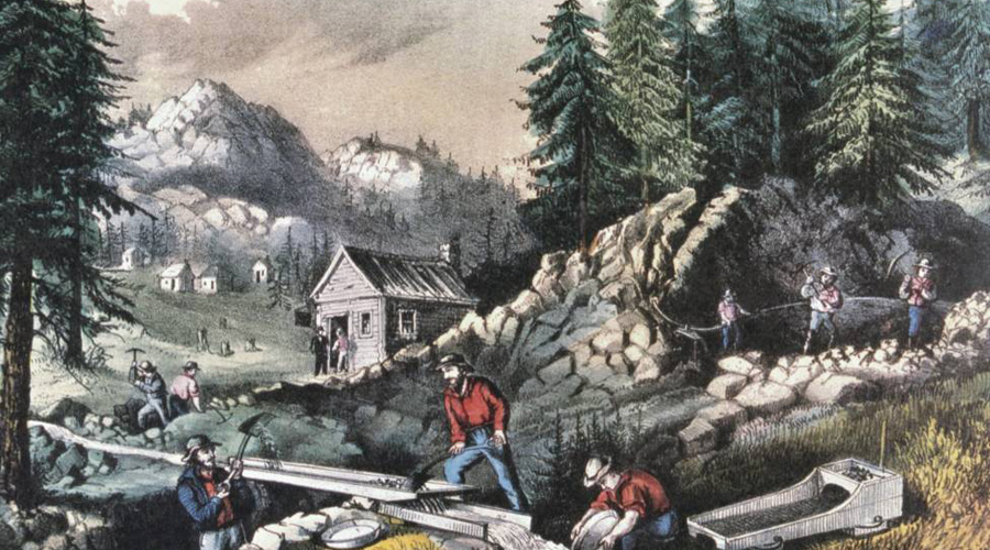 gold rush in california during january of 1848