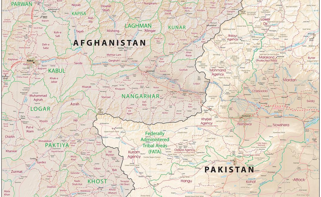 Северная афгано-пакистанская граница, 2010 год