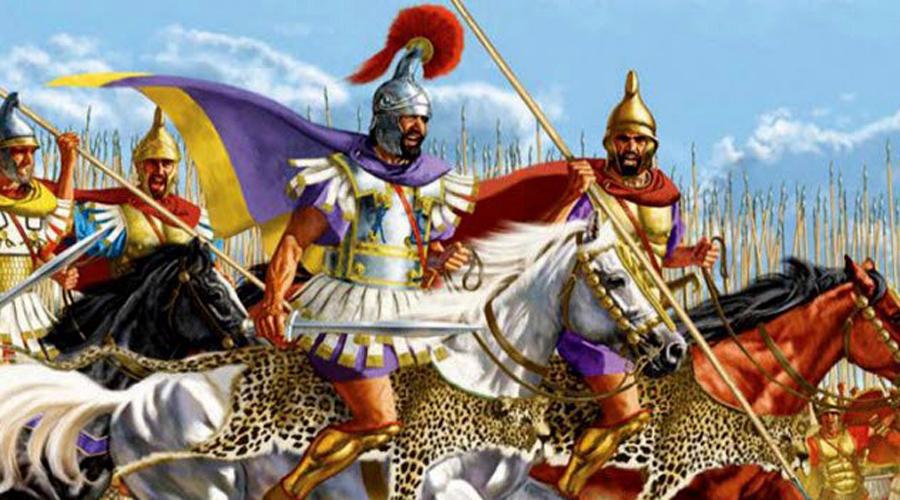 Изматывающая стратегия Филипп Македонский Слава царя Филиппа II находится в тени завоеваний его сына, великого завоевателя Александра Македонского. Однако, именно Филипп заложил основу будущей империи, последовательно завоевав важные для развития территории. Многие битвы хитрый царь выигрывал благодаря умению мыслить стратегически. Он понимал, какую опасность представляет для войска сражение под палящим солнцем и проводил ложные атаки, чтобы заставить армию противника принимать оборонительную позицию. Простояв несколько часов в самый полдень даже самые стойкие бойцы теряли силы.