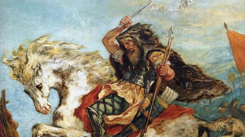 Империя гуннов Гунны стали причиной Великого переселения народов и распада Западной Римской империи. Под предводительством Аттилы, в свое время известного как «Бич Божий», гунны разграбили и сожгли сотни городов. Римляне считали кочевников варварами, но вне зависимости от образа жизни Аттила был невероятно умным и хитрым стратегом с выдающимися лидерскими качествами.