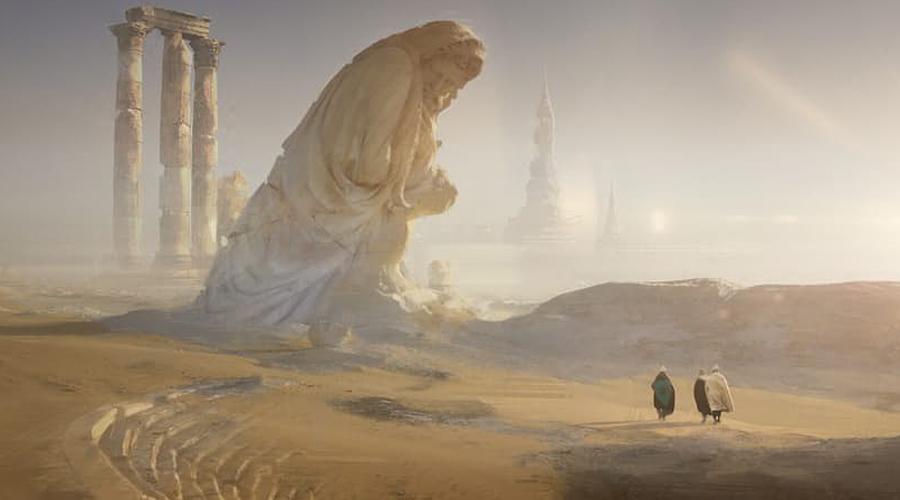 Убар Целое тысячелетие этот полумистический город оставался экономическим центром, расположенным посреди пустыни. Огромный оазис был идеальным местом для торговли и отдыха: у стен города находился подземный источник, который и стал причиной его гибели. Археологи предполагают, что вода подточила известняковые стены: обрушившись, они утащили за собой весь город в царство Аида.