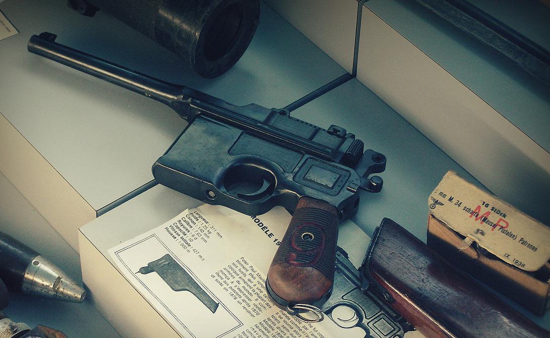 Товарищ Маузер: главный пистолет революции