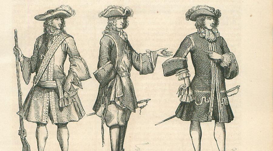 Снаряжение Казна выдавала стрелкам только мушкет, а все прочее снаряжение они покупали сами. Каждый должен был быть вооружен шпагой, палашом, двумя пистолетами, дагой и багинетом. Кроме того, мушкетеру полагался личный слуга, также оплачиваемый из собственного кармана.