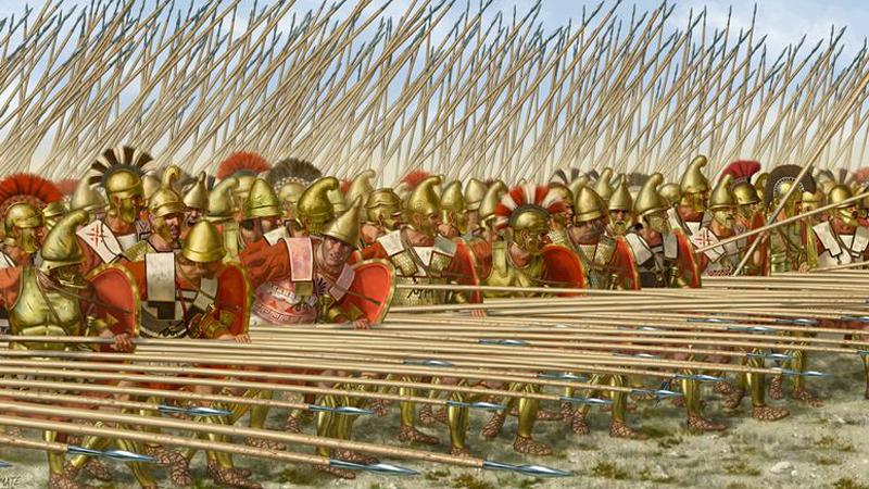 Македония Филипп II стал королем Македонии в 359 году до нашей эры. Царь инициировал ряд военных реформ, превратив ранее неэффективную армию в грозную силу. Для начала численность регулярных отрядов увеличилась до 30 000 человек, были введены специальные корпуса инженеров, работавших с осадной техникой. Своему сыну, великому Александру Македонскому, Филипп оставил профессиональную, закаленную в боях армию, с помощью которой тот легко завоевал почти полмира.