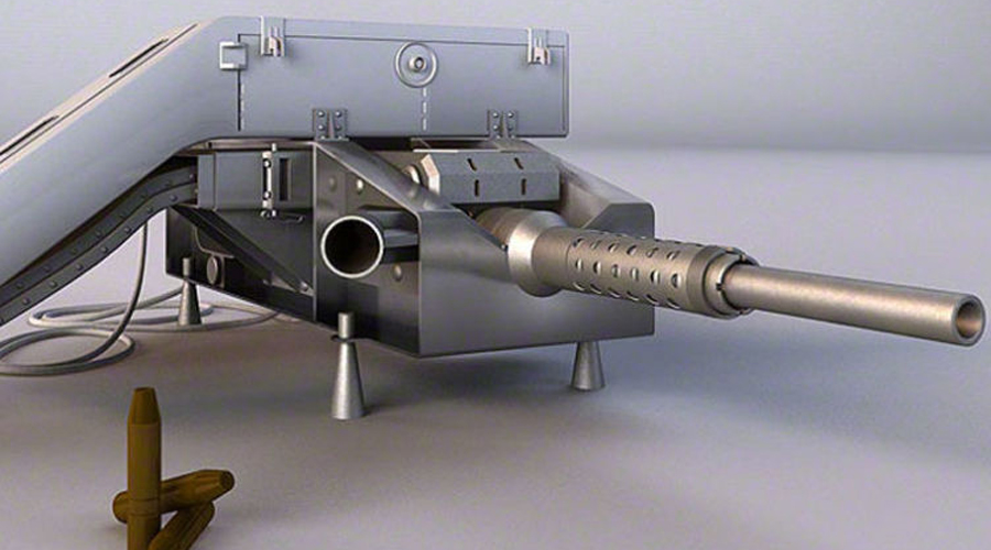 Страховка от нападения Такому важному космическому аппарату требовалась защита. В СССР боялись, что американцы смогут просто украсть новую станцию прямо с орбиты и потому проект «Алмаз» решили оснастить модифицированной пушкой конструкции Нудельмана-Рихтера, НР-23. Уже второе поколение ОПС (орбитальных пилотируемых станций) предполагалось вооружить посерьезнее: система «Щит-2» и две ракеты «космос-космос» должны были напугать любого врага.