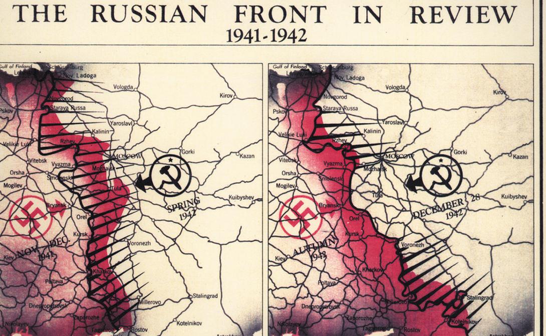 Русский фронт, 1942 год