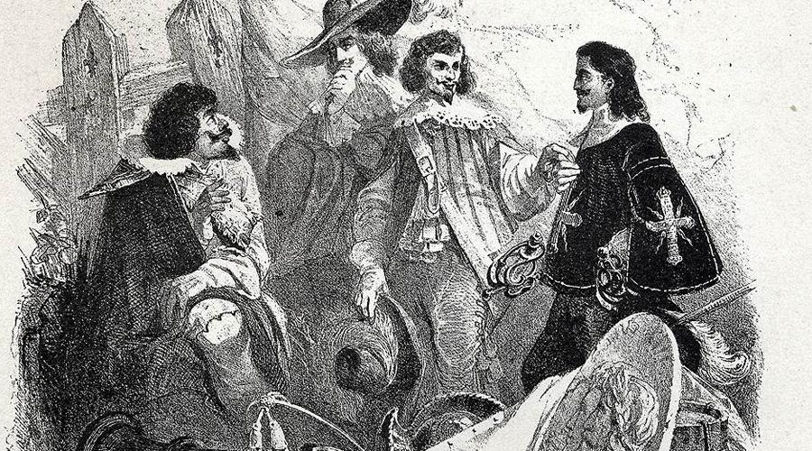 Малые мушкетеры В 1660 году кардинал Мазарини преподнес королю в подарок свой собственный отряд гвардейцев. Из него был сформирована рота «Малых мушкетеров», номинальным командиром которой стал сам властитель Франции. Увидев все признаки высочайшего покровительства, многие дворяне сочли новую роту более престижной. В результате между мушкетерами из разных отрядов завязалась скрытая вражда, подкрепляемая постоянными состязаниями в роскоши. Придворные прозвали этот период «Войной кружев».