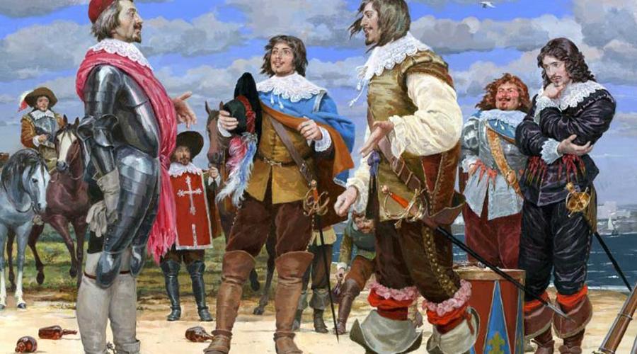 Козни Мазарини Со смертью Людовика XIII пришел конец и первой роте мушкетеров. Дело в том, что кардинал Мазарини пытался сместить де Тревиля с должности командира, а на его место поставить племянника, Филиппа Мазарини. Потерпев неудачу, кардинал сумел добиться роспуска мушкетеров, и в 1646 году воплотил свои планы в жизнь.