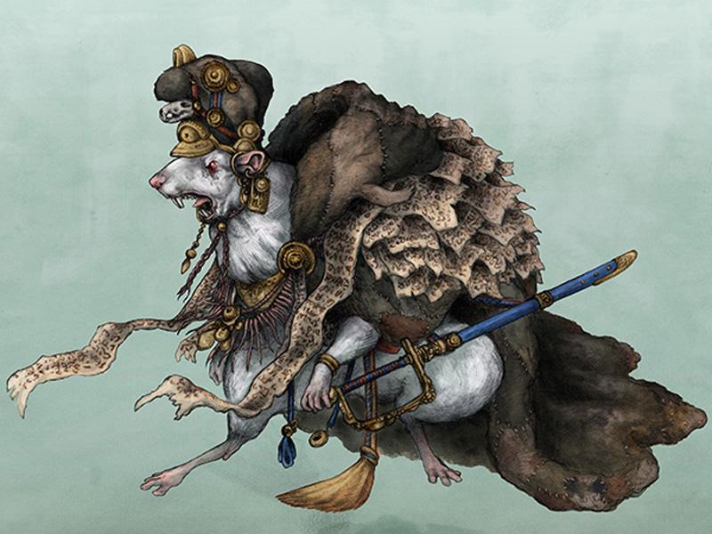 Мифотворчество В средние века обнаруженные «Крысиные короли» могли вызвать панику у населения небольшого города. Странные, похожие на страшный сон священника создания наводили мысли о порче, ведьмах и колдунах. Считалось, что Крысиный король правит всеми крысами города и может приказать им напасть на людей. Кстати, период Черной Смерти необразованные крестьяне также сваливали на Крысиных королей.