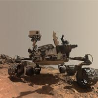 На Марсе заметили вооруженного инопланетянина