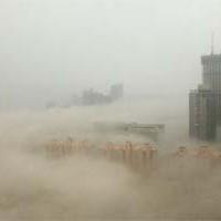 Дым над водой: пекинский смог напугал даже местных