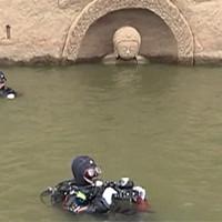 Таинственную подводную сокровищницу в Китае охранял Будда
