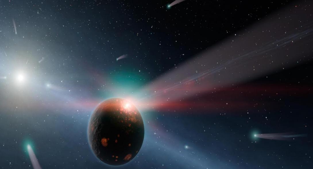 На волосок от смерти Немногим ранее существование Глизе 710 не очень беспокоило ученых: звезда должна была пройти на безопасном расстоянии в один световой год. Однако, на сегодняшний день астрономы получили гораздо более мрачные прогнозы — Glize 710 пролетит всего в 77 световых днях от Земли.