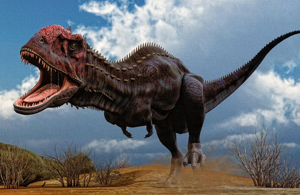 Майюнгазавр Сравнительно небольшой майюнгозавр (всего-то девять метров длиной) обладал внушительной массой в полторы тонны. Эти динозавры отличались крайне плохим зрением и полагались на нюх — археологи утверждают, что майюнгозавр мог бы дать сто очков вперед современной ищейке. При охоте майюнгозавры пользовались не только когтями, но и особым рогом, растущим чуть выше ноздрей.
