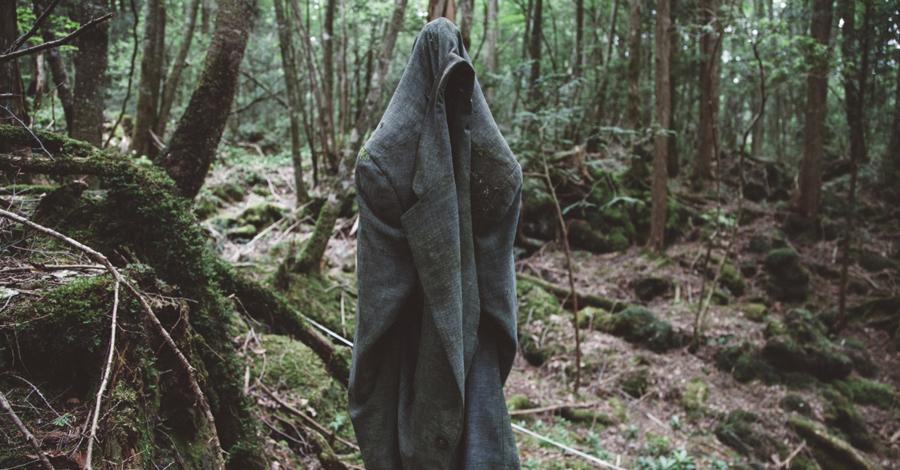Лес Аогикара Япония Так называемый Лес Самоубийц расположен прямо у горы Фудзи. Деревья здесь растут так плотно, что не дают существовать никаким животным и даже ветер не пробивается под эти мрачные кроны. Тут всегда тихо. Кроме тех дней, когда подростки прибегают под сень древ, чтобы последний раз взглянуть на мир живых и отправиться в далекое путешествие. Японцы верят: их призывают призраки.
