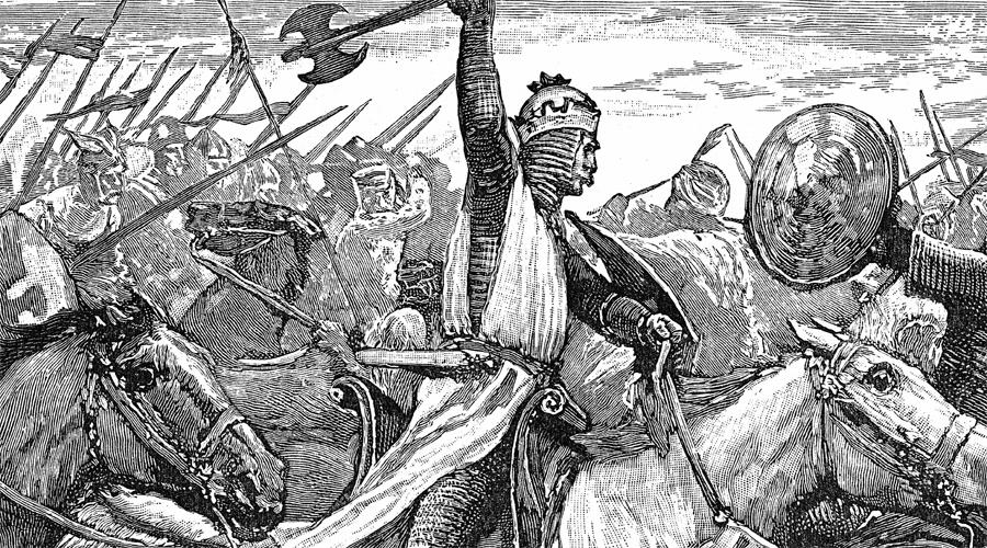 Секира Наиболее известным, так сказать, классическим варварским оружием всегда был боевой топор. Большинство племен вооружало воинов копьями, в лучшем случае мечами; германцы же врывались в ряды противника с тяжелыми секирами, разбивавшими доспехи и шлемы за один удар. Франки же предпочитали более легкий вариант топора, франциску, которую можно было использовать и как метательное оружие.
