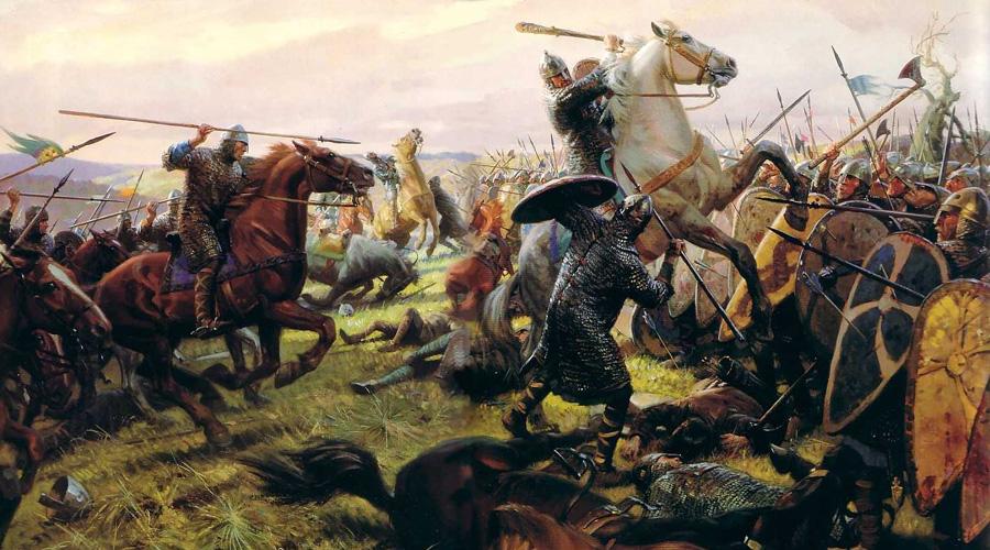 Боевые кони Наездник столь же хорош, как и его конь. Норманны внимательно отбирали и тщательно ухаживали за своими боевыми товарищами. Как правило, боевой конь был мощным и упрямым зверем, столь же опасным как и сам рыцарь. Обученные жеребцы кусали противника, били его копытами или просто сминали широкой грудью. Немногие могли выстоять перед атакой нормандской конницы!