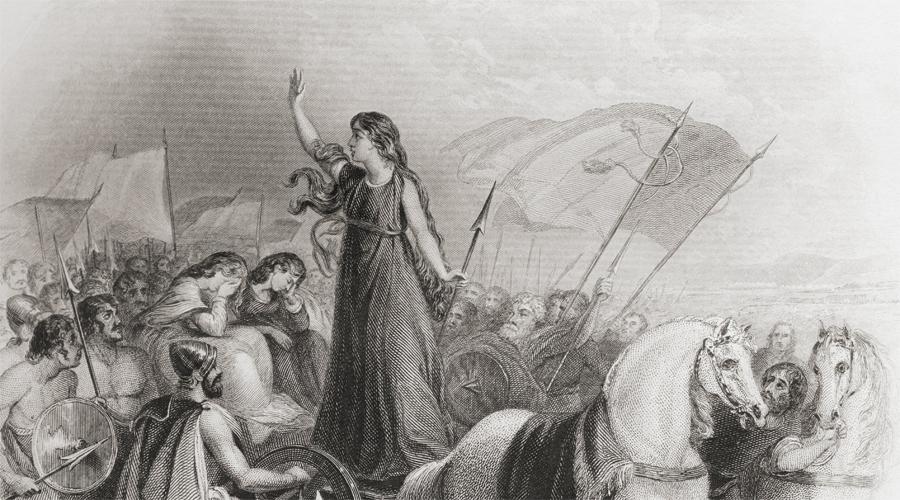 Кельтская колесница Юлий Цезарь стал первым римским полководцем столкнувшимся с военными колесницами кельтских племен. В бою они действовали в качестве своего рода древнего бронетранспортера: влекомые парой сильных лошадей, с прочной платформой и защитой стрелка они создавали настоящую панику среди неприятеля.