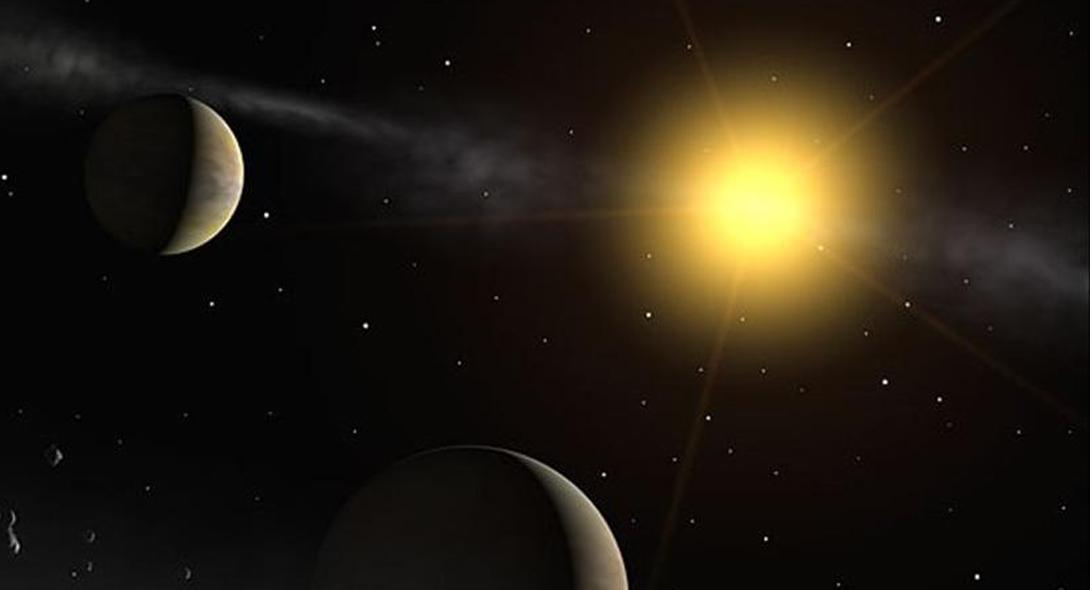Где она сейчас Определением точного местанохождения звезды-убийцы занимались астрономы польского университета имени Адама Мицкевича, Познань. Glize 710 пролетает в 64 световых годах от Солнечной системы. При том, что один световой год равен 9 461 000 000 000 км, лететь к нам звезде придется еще долго.