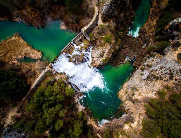 Сальто-де-Поведа в Альто-Тахо, испанском Национальном парке