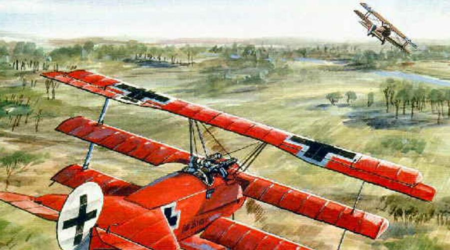 Кровавый апрель Через несколько месяцев маховик немецкой авиации вышел на промышленные обороты. Апрель 1917 года английские летчики прозвали «кровавым апрелем», поскольку только один Манфред сумел за три недели сбить 22 аэроплана британцев. В начале лета ас получил тяжелое ранение и на некоторое время вынужденно покинул линию фронта. Возвращение Рихтгофена немецкое командование отметило очередным повышением — на сей раз барону доверили целый полк истребителей.