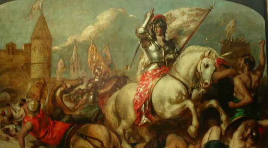 Жанна де Дампьер Жанна де Дампьер стала герцогиней Бретани после брака с герцогом Жаном IV. В 1341 году герцог попал в плен к королю французскому и бедняжке пришлось самостоятельно возглавить войско против Шарля де Блуа, намеревавшегося захватить осиротевшее герцогство.
