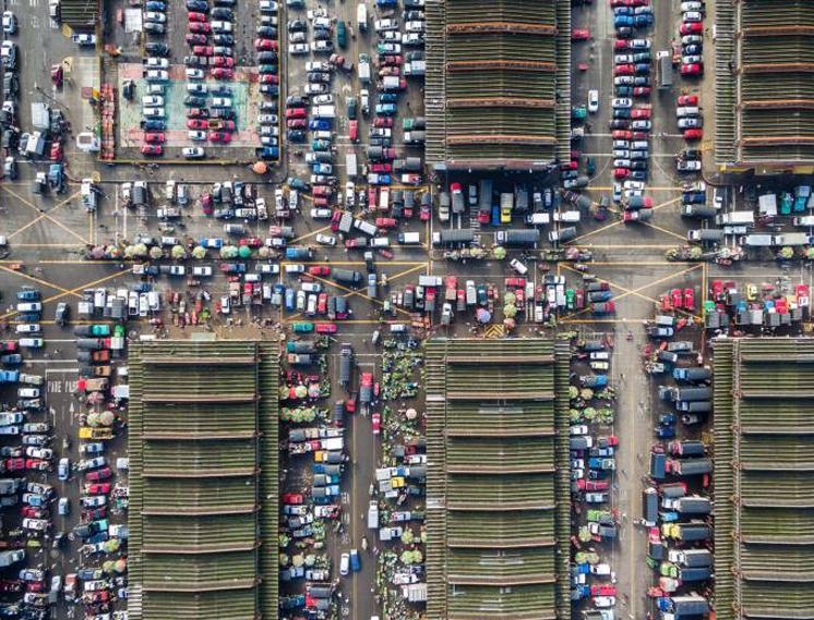 Главный подпольный рынок наркоторговцеввБоготе, Колумбия