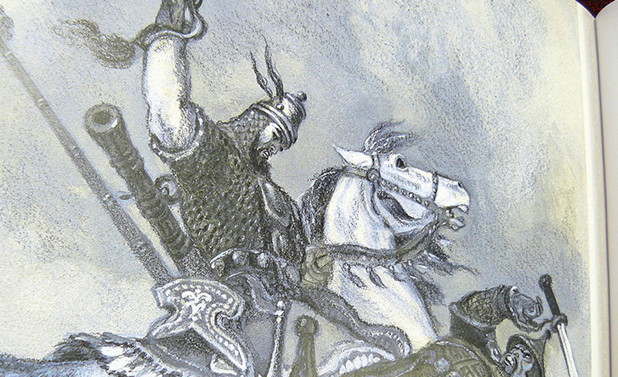 Идолище Поганое Скорее всего, в виде Идолища Поганого русский народ изобразил враждебную татарскую силу — его характеризуют как «некрещеное», «нечестивое», «идолом-скоропитом». Илья Муромец в одной из былин спас Киев, выстроив новую колокольню, — для явно мусульманского Идолища церковный звон оказался губителен.