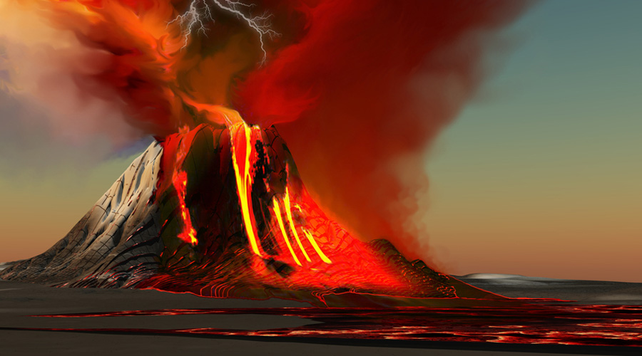 Что будет, если четыре вулкана взорвутся одновременно? Настоящая катастрофа, которая может быть даже сотрет Исландию с лица земли.
