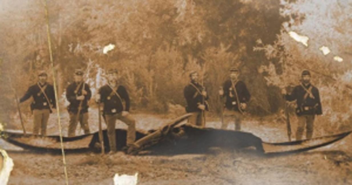 Безымянная тварь Во время Гражданской войны в Америке 1864 года группа солдат утверждала, что на них напало это странное существо.