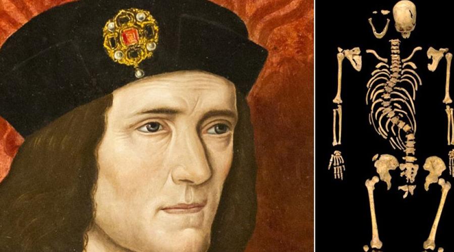 Ричард III Исследовательская группа Университета Лестера сумела обнаружить остатки одного из самых известных монархов Англии, Ричарда III. Сейчас ведутся работы по исследованию ДНК останков — в скором времени король станет первой исторической личностью с полностью исследованным ДНК. На основании полученных данных можно будет найти и всех потомков великого короля.