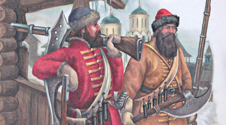 Берендейка Это ременная перевязь, которая носилась через левое плечо. Использовали ее по всей Европе в пехотных войсках, вооруженных огнестрельным оружием. Всё, что привешивалось к берендейке, было необходимо для заряжания ружья. В России берендейками пользовались пищальники, а позже – стрельцы. К концу XVII века были изобретены бумажные патроны с готовым зарядом, и берендейка вышла из употребления.