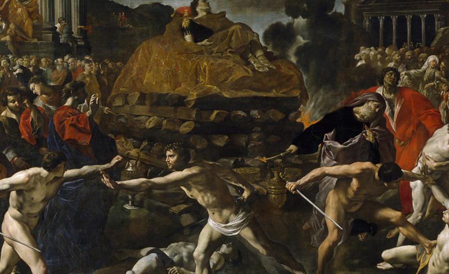 Истоки Вообще говоря, гладиаторские бои не были продуктом Римской империи. Римляне подсмотрели обычай ритуальных схваток у этрусков и долгое время рабы сражались не на потеху публике, а лишь для обрядовых ритуалов погребения. Так богатые граждане могли пролить человеческую кровь, чтобы почтить душу умершего — своеобразное жертвоприношение. Популярность же пришла к боям благодаря Юлию Цезарю, первым придумавшим масштабные схватки между сотнями бойцов. К концу I-го века до нашей эры игры получили государственное финансирование и превратились в развлечение для масс.