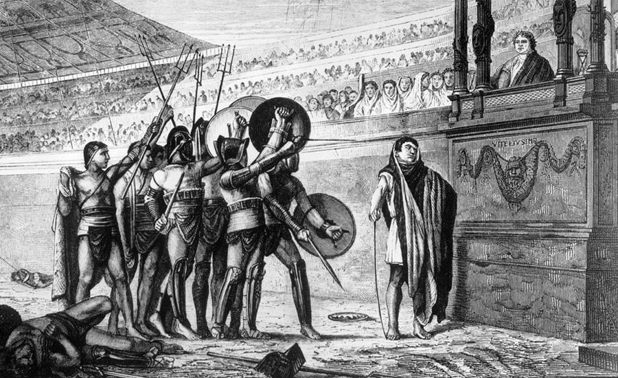 Школы смерти Для бывших солдат и легионеров не требовалось обучения, чтобы стать гладиатором. Но за деньгами и славой гнались не только они. Юноши из богатых семей и даже сенаторы частенько выходили на ринг, чтобы позабавить себя. Естественно, без подготовки они ничего бы не смогли противопоставить закаленным бойцам. В Риме начали открываться специальные школы гладиаторов, попасть куда было далеко непросто. Главными считались Ludus Magnus, Ludus Gallicus, Ludus Dacicus и Ludus Matutinus.