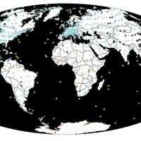 На этой карте можно увидеть всех динозавров разом!