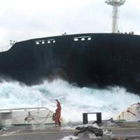 Величественные и ужасные столкновения кораблей, случайно снятые на видео