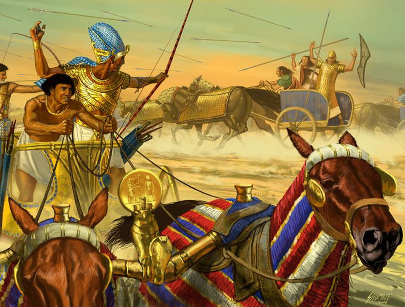 Военные поселения В эпоху Древнего Царства Египет начинает постепенно формировать постоянное войско. За службу солдаты получали крупные земельные наделы, что служило отличным стимулом действительно любить страну и сражаться за ее благополучие.